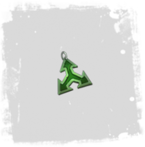 Inventory Enchantments Insignia Barbed Green