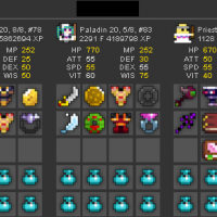 Rotmg Account Warrior 8/8 Knight 8/8