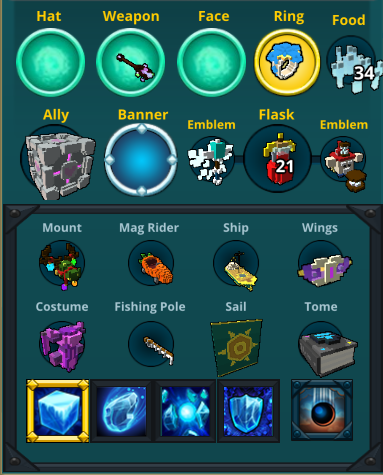 Trove account Ice Sage 32.8k items